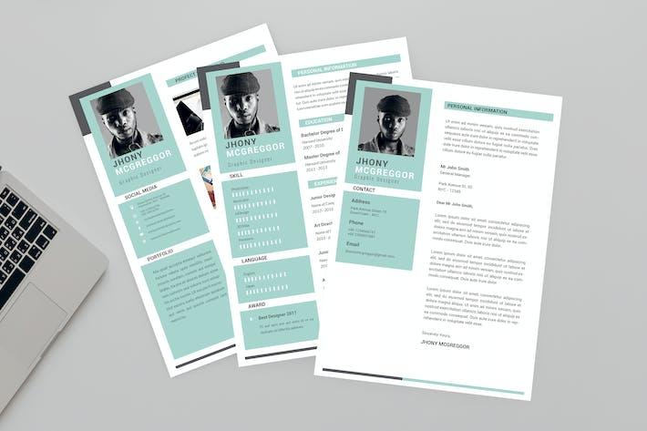 Jhony Graphic Designer Resume Designer