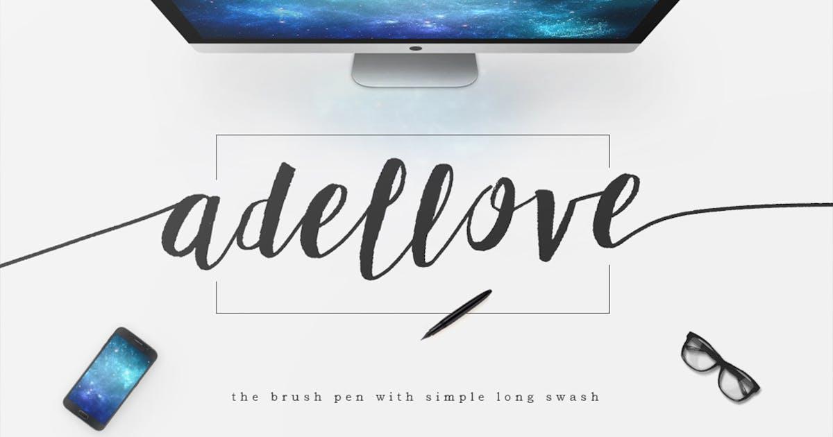 Download Adellove Typeface by maulanacreative