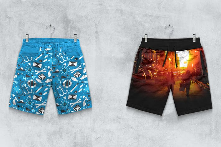 Thumbnail for Shorts Boxer Slip Mockup