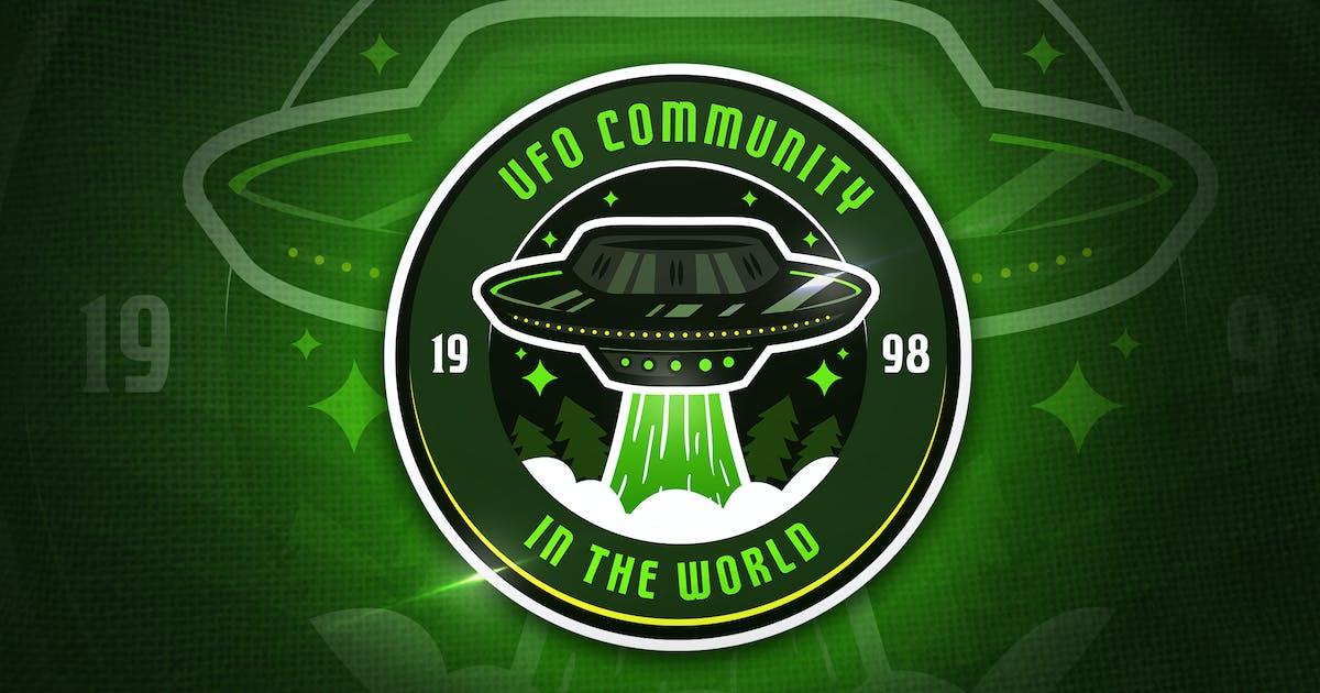 Download UFO Community - Mascot & Esport Logo by aqrstudio