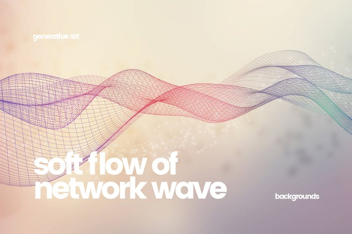 Thumbnail for Soft Flow of Network Wave Backgrounds
