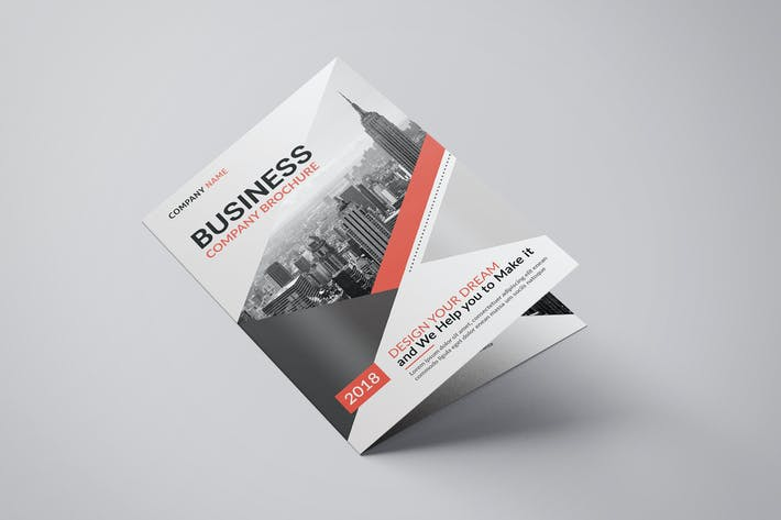 Voyd - Business Bifold Brochure Template