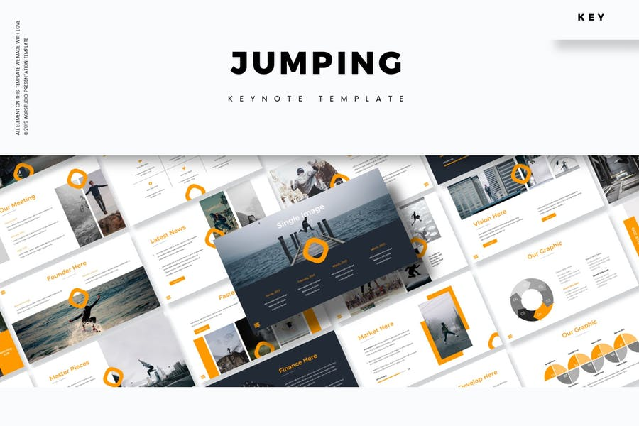 Jump - Keynote Template - product preview 0