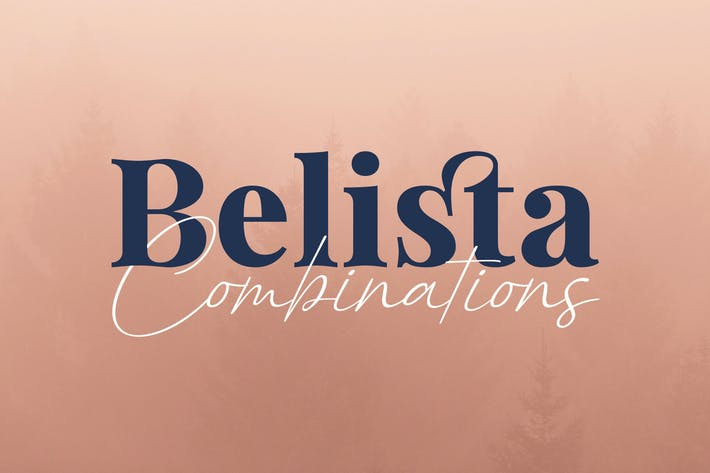 Thumbnail for Belista - Serif Handwriting