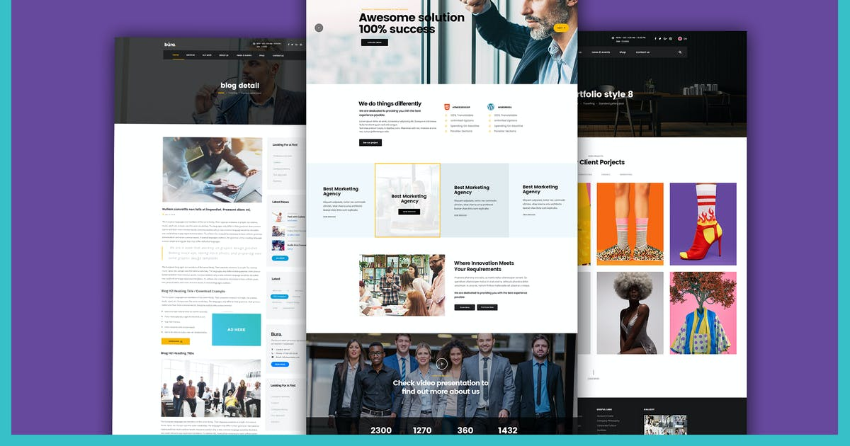 Build your Own Website Business Agency Template by Unknow