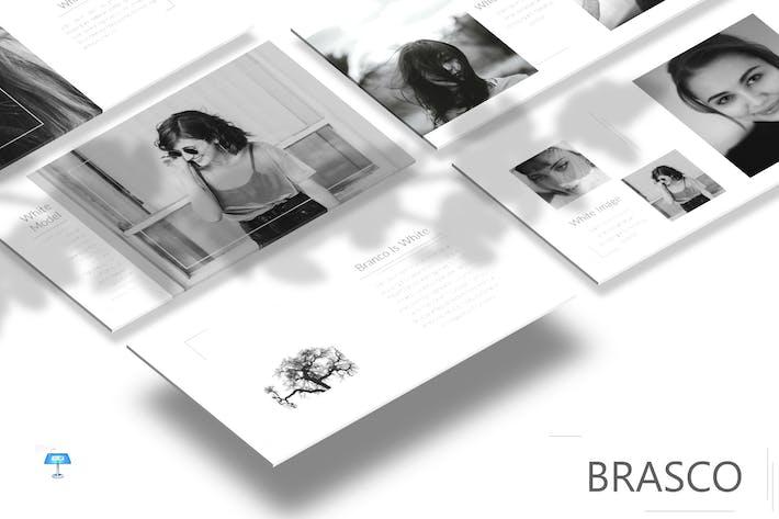 Cover Image For Brasco - Keynote Template