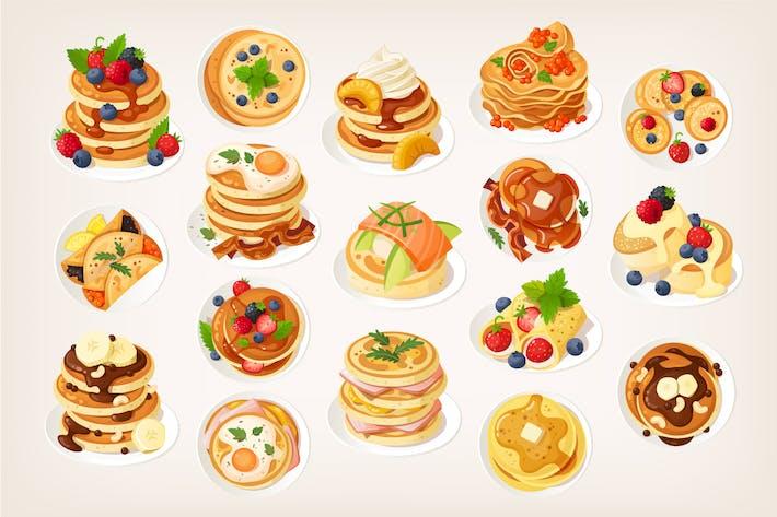 Köstliche Pfannkuchen