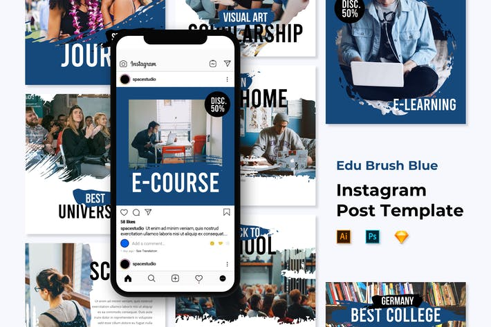 Education Instagram Templates