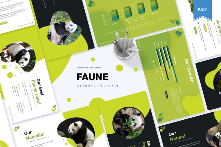Thumbnail for Faune | Keynote Template