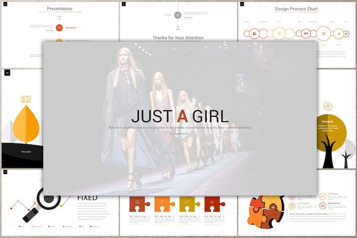 JUST A GIRL Google Slides