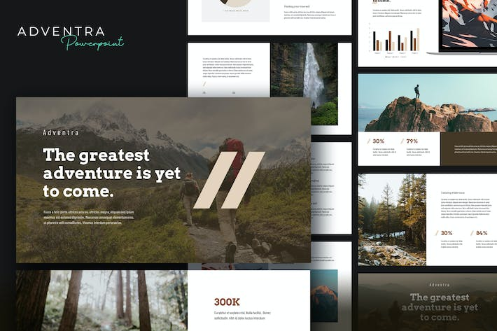 Thumbnail for Adventra - Travel & Adventure Powerpoint Template