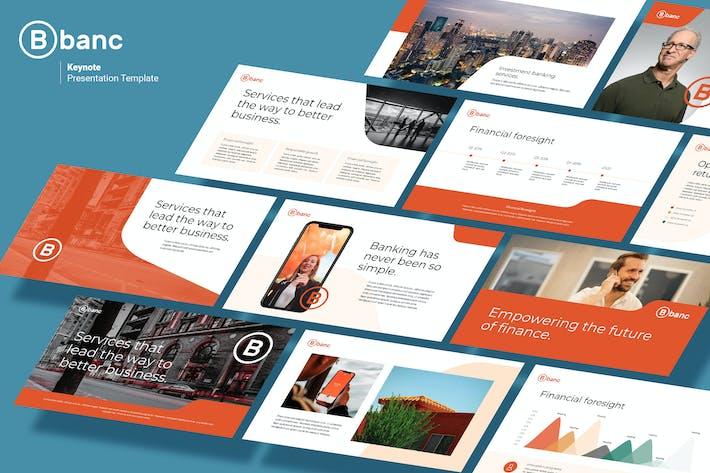 Thumbnail for Banc - Business & Financial Keynote Template