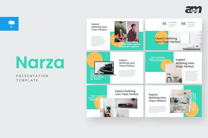 Thumbnail for Narza - Keynote Template