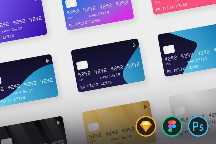 Thumbnail for Credit Card Mockups