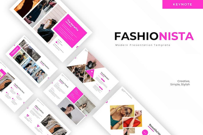 Thumbnail for Fashionista - Keynote Template