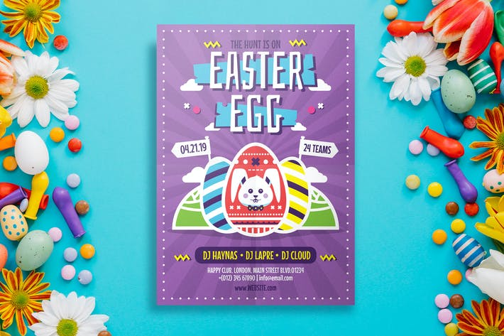Thumbnail for Easter Flyer Template