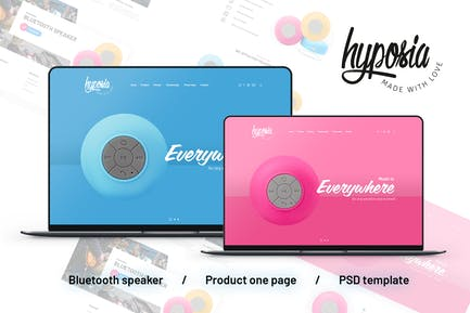 Single Product: One Page Speaker 2 Useful Examples