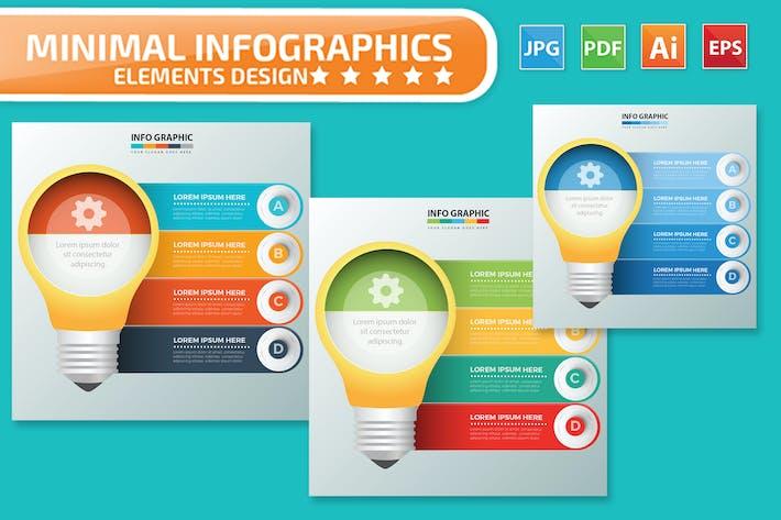 Thumbnail for Ampoule Infographies design