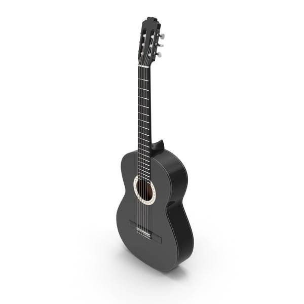 Cover Image for Black Acoustic Guitar
