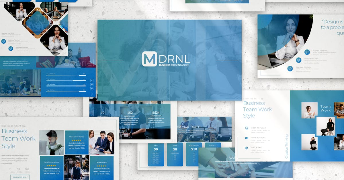 Download mdrnl business keynote 2019 by templatehere
