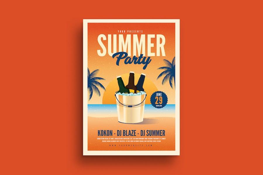 Summer Beer Event Flyer