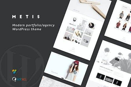 Metis - Portfolio o/Agentur WordPress Thema