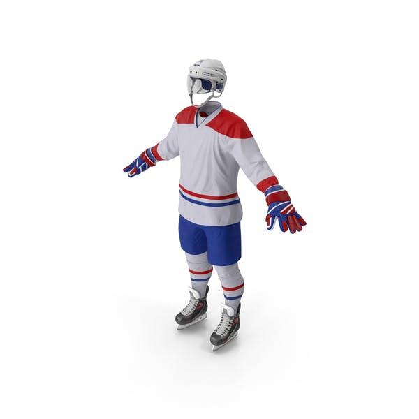 Hockey Equipment White