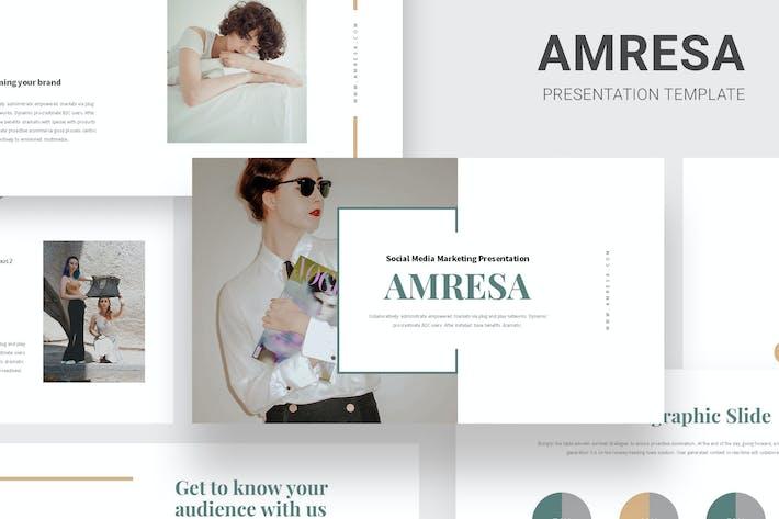 Thumbnail for Amresa : Tech Business Google Slides
