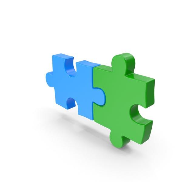 Puzzle Zweiteilig