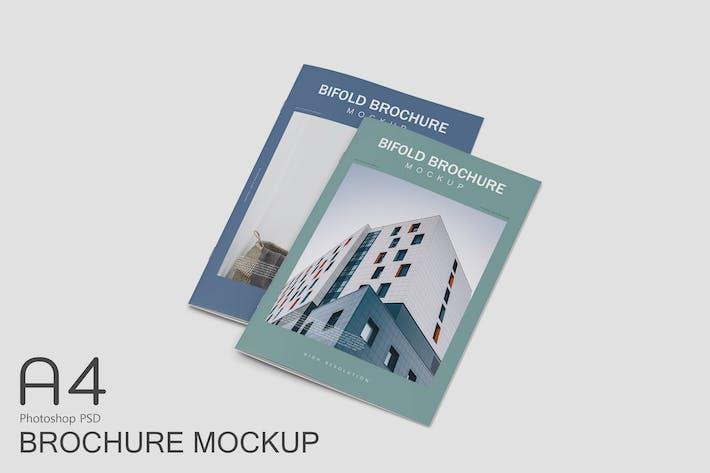 Thumbnail for A4 Brochure Mockup