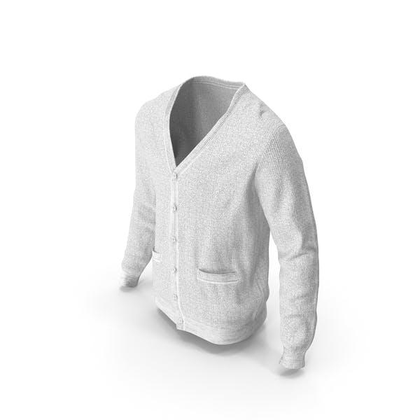 Mens Sweater White