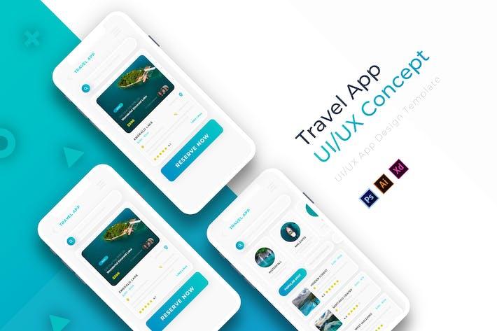 Thumbnail for TravelAppli | Modèle d'application