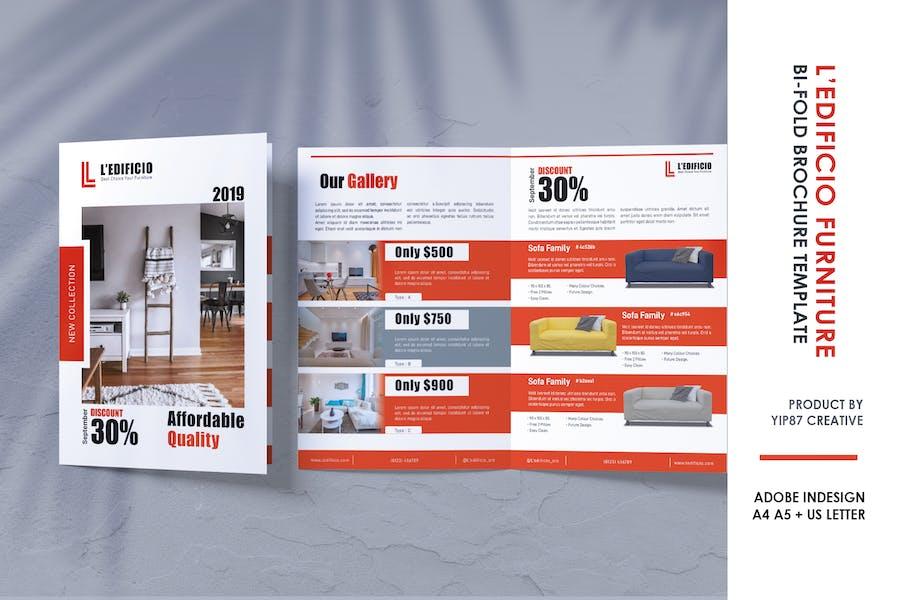 Furniture and Interior Design - Bifold Brochure