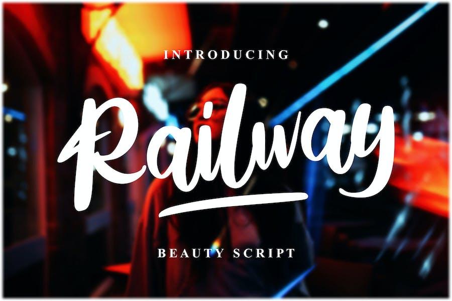 Script beauté ferroviaire