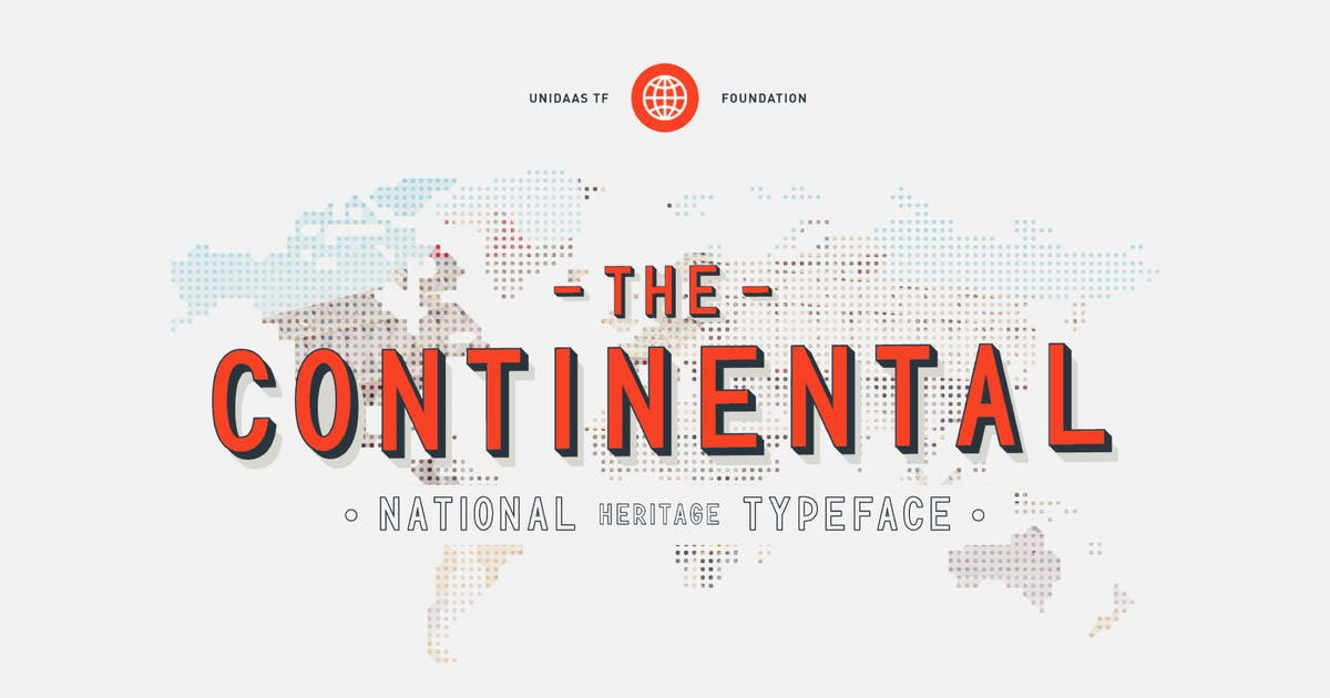 Download TF Continental Display Font by Incools