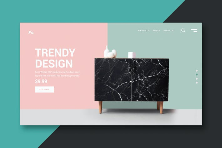 Thumbnail for Online Store - Landing Page