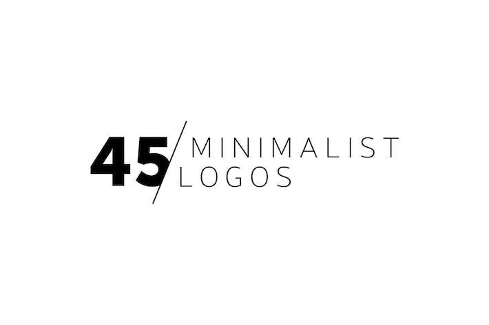 Thumbnail for 45 Minimalist Logos