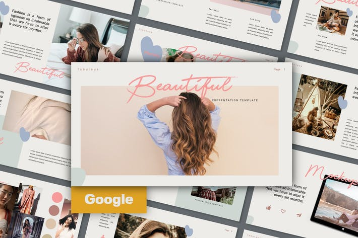 Thumbnail for BEAUTIFUL - Google Slide