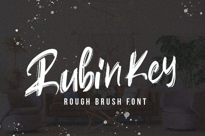 Rubinkey Tipo de letra rugosa