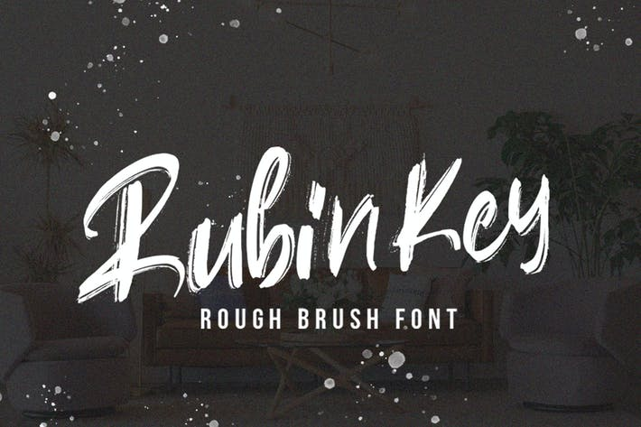 Thumbnail for Rubinkey Tipo de letra rugosa