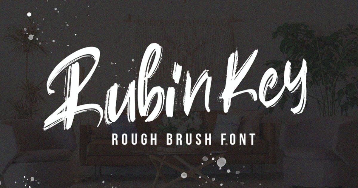 Download Rubinkey Rough Font by vultype