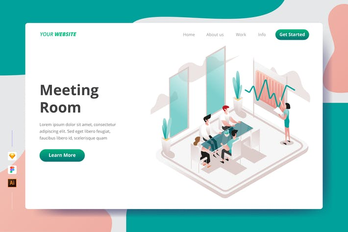 Thumbnail for Meeting Room - Landing Page
