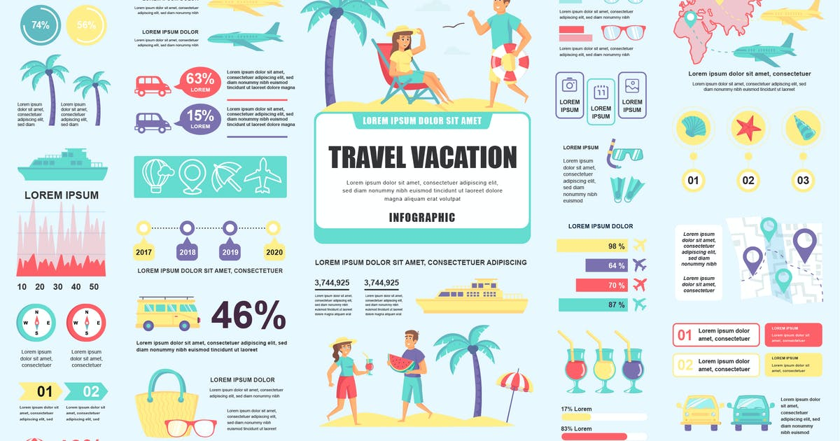 Download Travel Infographics Template by alexdndz