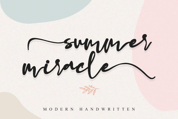 miracle d'été