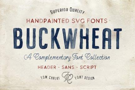 Fuentes SVG OpenType de trigo sarraceno