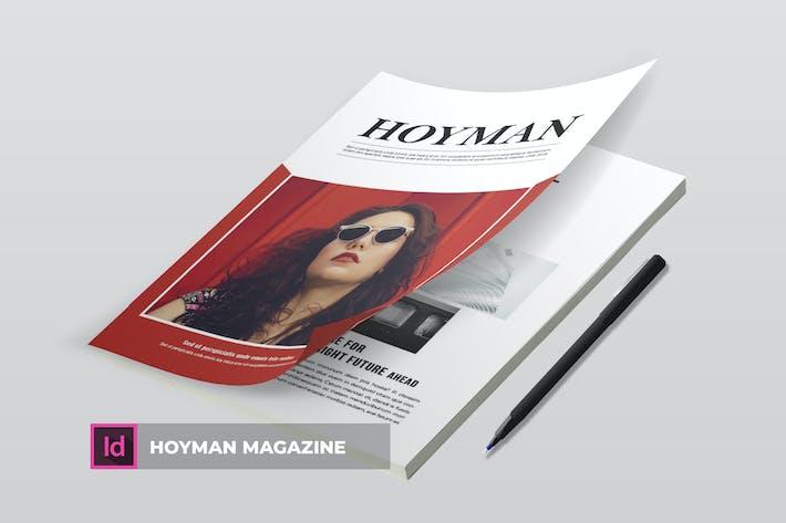 Thumbnail for Hoyman | Magazine Template
