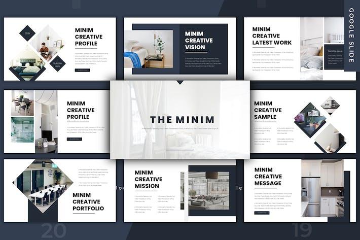The Minim - Google Slides Template