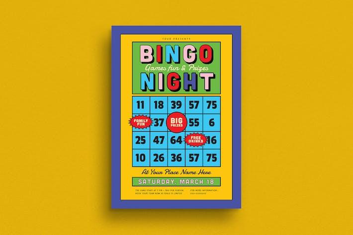 Bingo Night Event Flyer