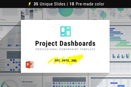 Project Dashboards for PowerPoint