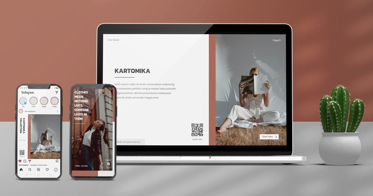 Download Kartomika - Keynote & Instagram Template by invisualstudio